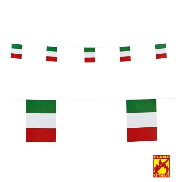 Tira bandera Italia 15x20,5 x 6 m.