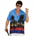 Camisa hawaiana palm beach T-ML