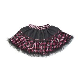 Tutú lentejuelas rosa-negro