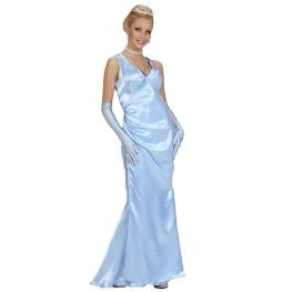 Vestido de gala azul T-ML