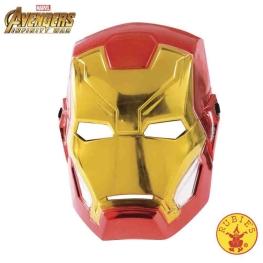 Máscara iron man avengers infantil