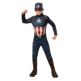 Disfraz de capitán américa talla 5 a 6 años