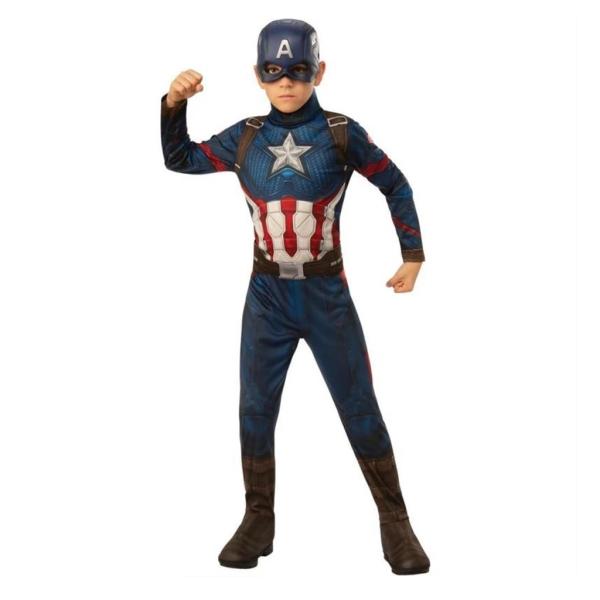 Disfraz de capitán américa 5 a 6 años para niño