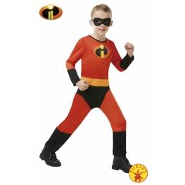 Disfraz de dash increible Talla 7 a 8 años