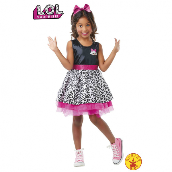 Disfraz de diva lol 7 a 8 años para niña