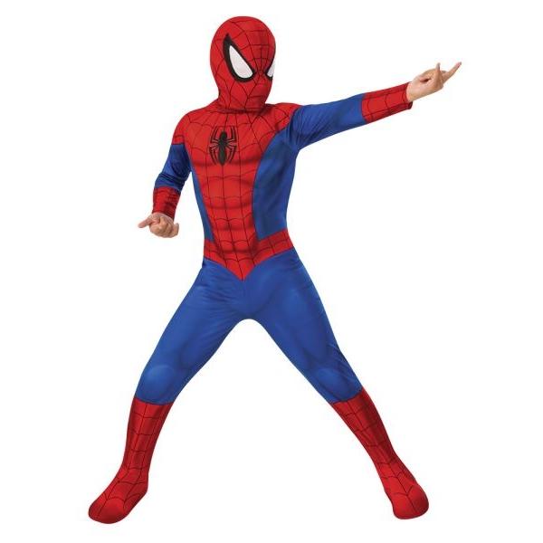 Disfraz de spiderman 5 a 6 años para niño