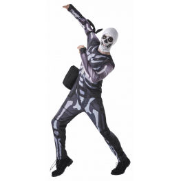 Disfraz skull trooper fortnite Talla 13-14 años