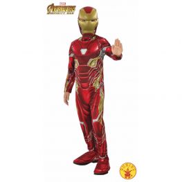 Disfraz de iron man iw 5 a 6 años para niño
