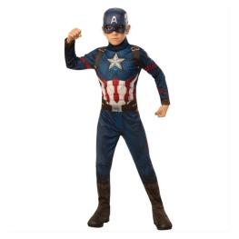 Disfraz Capitán america talla 7 a 9 años