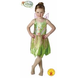Disfraz campanilla classic 5 a 6 años para niña