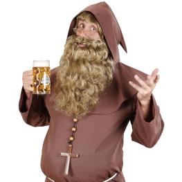 Barba rubia extra larga
