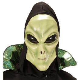 Máscara alienigen con capucha