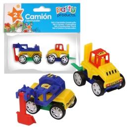 Camión construcción 2 unidades