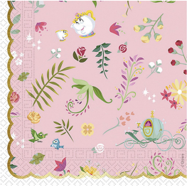 Servilleta true princess 33x33 20 unidades