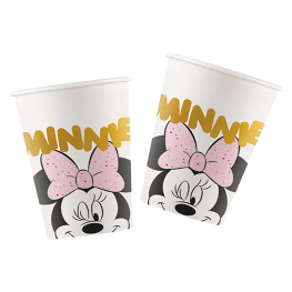 Vaso Minnie gem 200cc 8 unidades