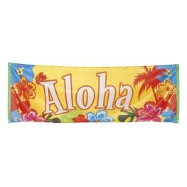 Pancarta Aloha 74x220cm