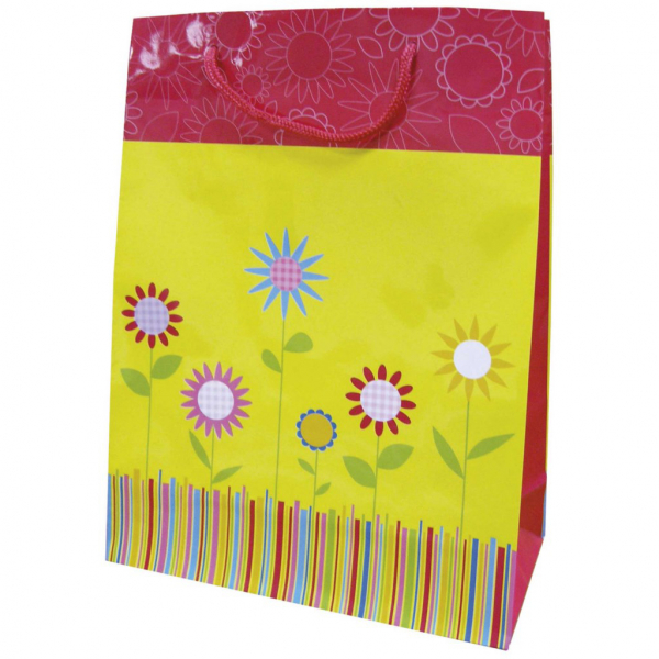 Bolsa regalo margarita 300x120x140mm