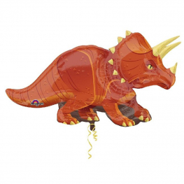 Globo C/Helio Triceratops figura