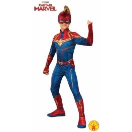 Disfraz Capitana Marvel 5 A 7 años para niña