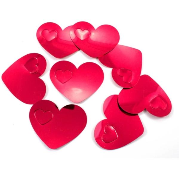 Confetti Corazon Xl Rojo