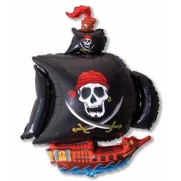 Globo C/Helio Pirata figura 86Cm