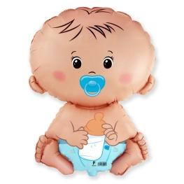 Globo C/Helio Baby Blue figura