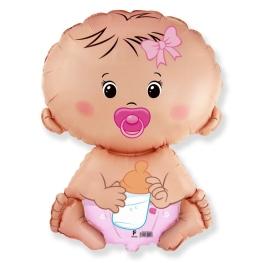Globo C/Helio Baby Pink figura