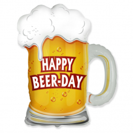 Globo C/Helio Happy Beer-Day figura