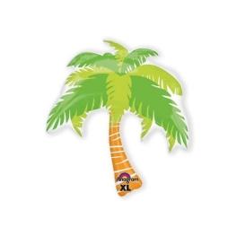 Globo c/helio  palmera tropical