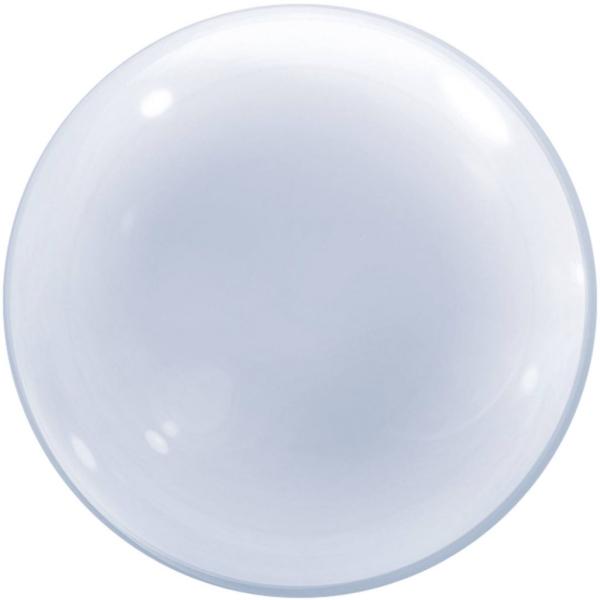 Globo C/Helio Burbuja Transparente 61Cm