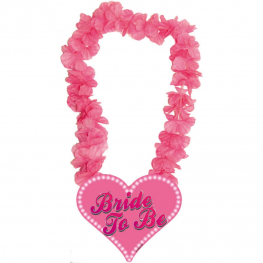 Collar rosa bride to be