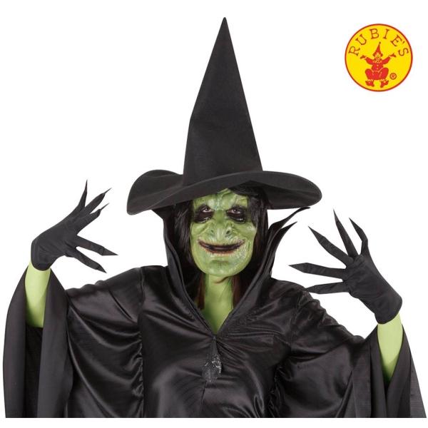 Set bruja malvada (Sombrero, guantes, máscara)