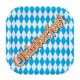 Platos Oktoberfest 25Cm 6 unidades