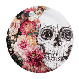 Plato day of the dead 6 unidades (23 cm)