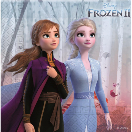 Servilleta Frozen 2 (33x33cm 20udes)