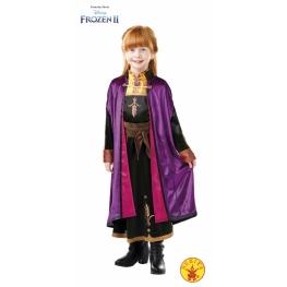 Disfraz Frozen Anna De 7 A 8 Años