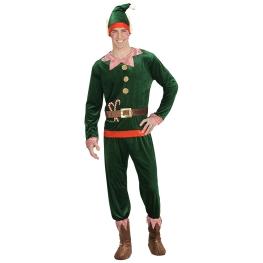 Disfraz de Elfo navidad Talla L para hombre