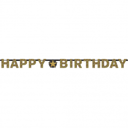 Banner Pancarta Happy Birthday