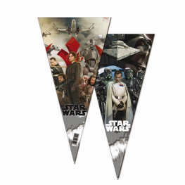Bolsa Cono Star Wars Rogue One 20X40 Cm 6Udes