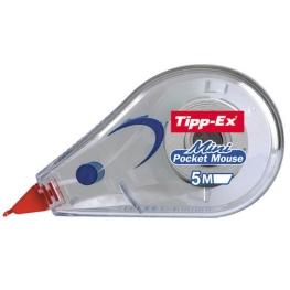 Cinta correctora marca Tippex