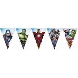 Tira Bandera Avengers