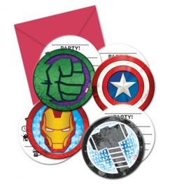 Invitaciones Avengers