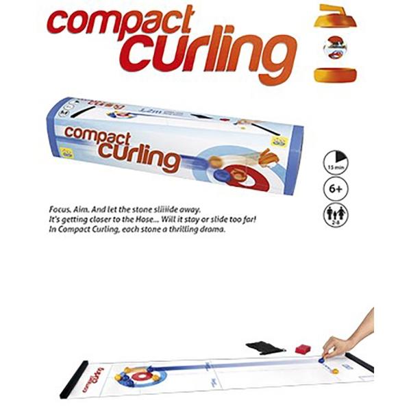 Juego curling compacto