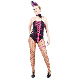 Body can can deluxe negro Talla M