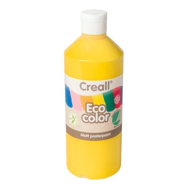 Pintura témpera ecológica 500ml amarillo
