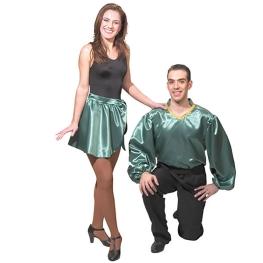Falda Celtic verde