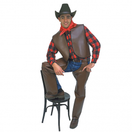 Cubrepiernas vaquero