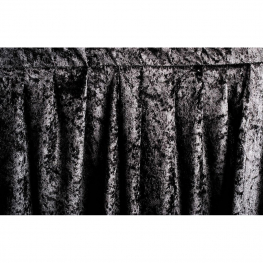 Cortina estándar Martelé negro 3 x 2,34 m