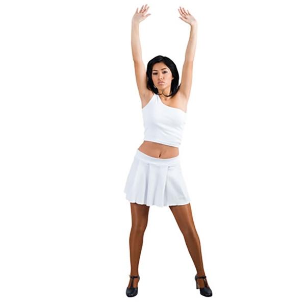 Falda gaga blanco