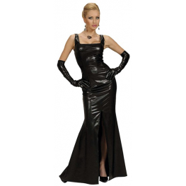 Vestido cocktail negro Talla L